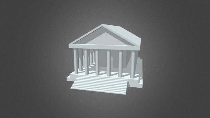 Santuario di Giunone Gabina 3D Model