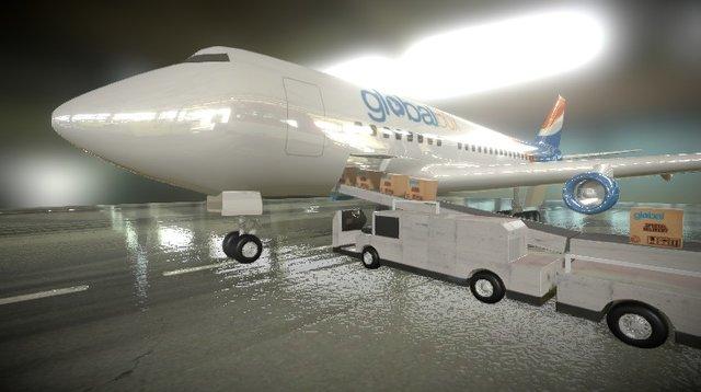 Avion Global Box 3D Model