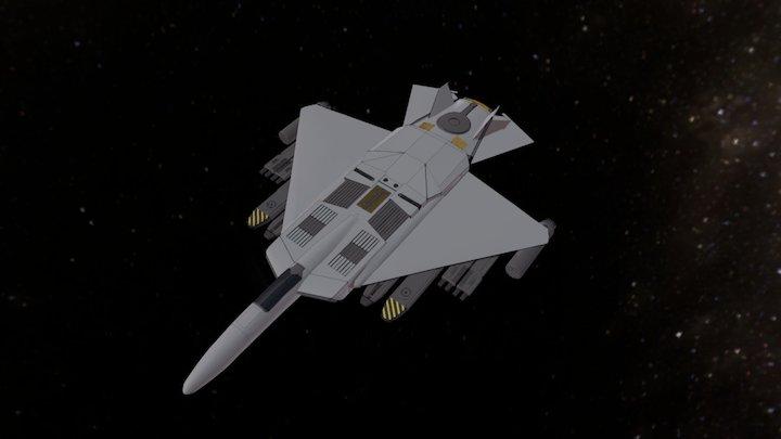 U.C.S. Interplanetary Assault Fighter (I.A.F.) 3D Model
