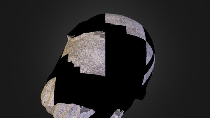 Sand Man HellBoy 3D Scan 3D Model