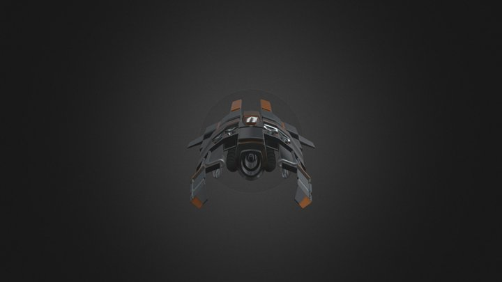 Stempinski_SpaceShip 3D Model
