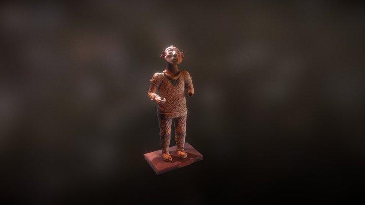 Photogrammetry - Xipe Totec 3D Model