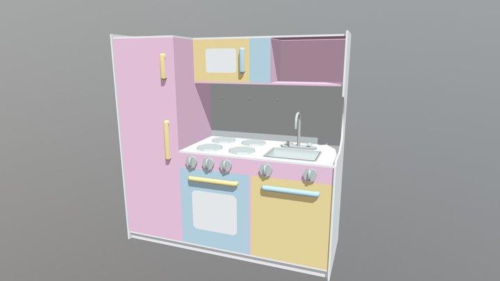 Kids Kitchen Playset (WIP - UPDATE #2) 3D Model
