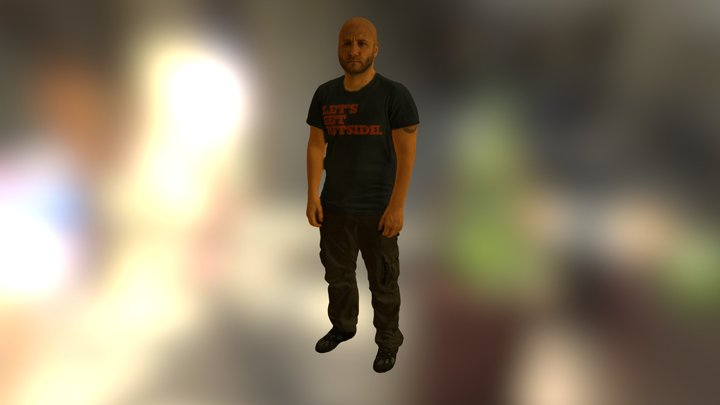 Davide Sher - Body Scan 3D Model