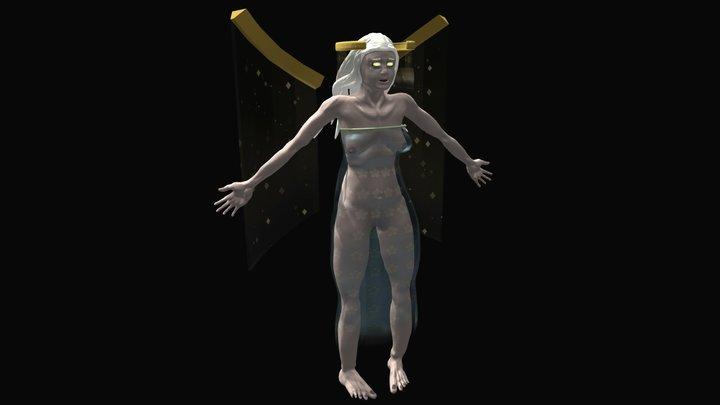 Isabella_Rigging 3D Model