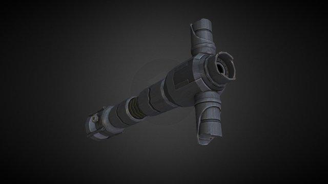 Kylo Ren Lightsaber (SW:EP7) 3D Model