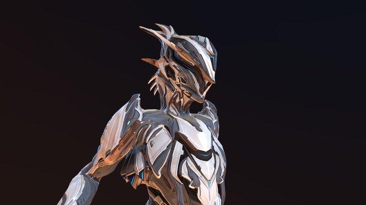Strafe Zephyr Skin and alt helmet V3 3D Model