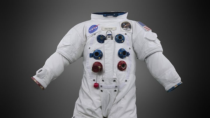 USA Space Suit IVA setup 3D Model