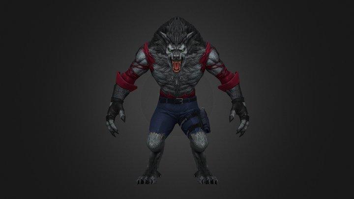 Azap Wolf 3D Model
