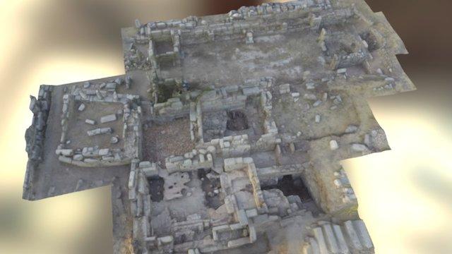 Labraunda East Bath 2016 3D Model