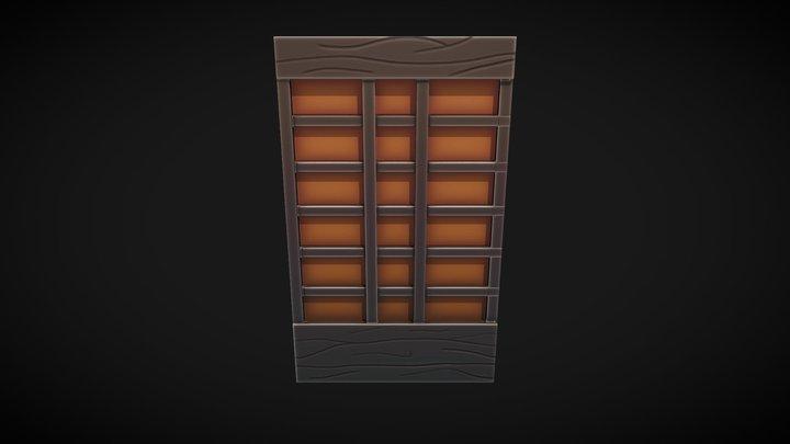 Wall Tile 03 3D Model