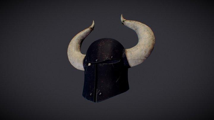 Chaos Warrior Helmet 3D Model