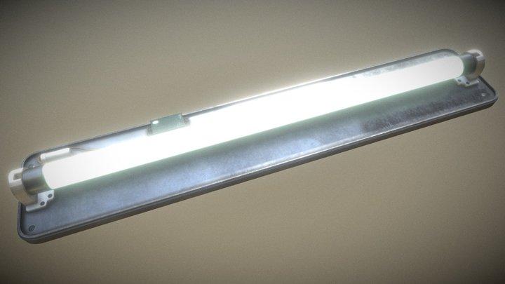 Fluorescent lamp 13W 3D Model
