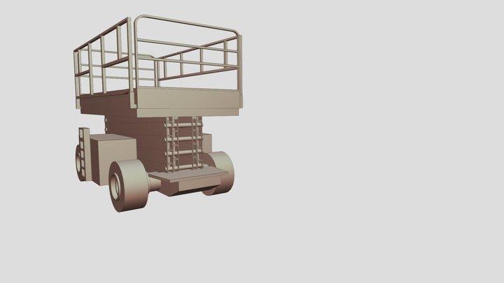 scissorlift 3D Model