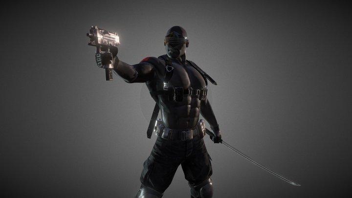 G.I.Joe  Snake Eyes 3D Model