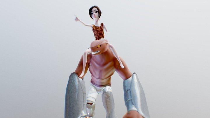 Minerva and Borgo 3D Model