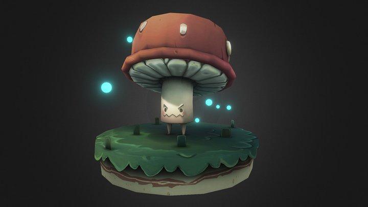 Monster Mushroom 3D Model