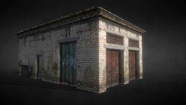 Old garage 3D Model
