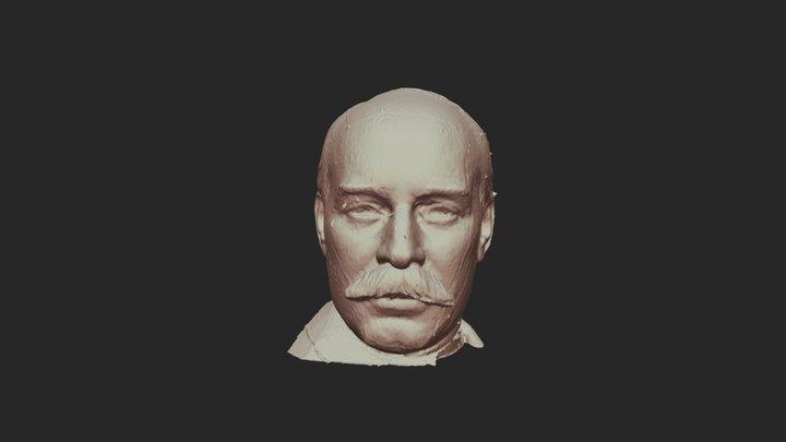 Bust of William C. Whitney (1905-07) 3D Model
