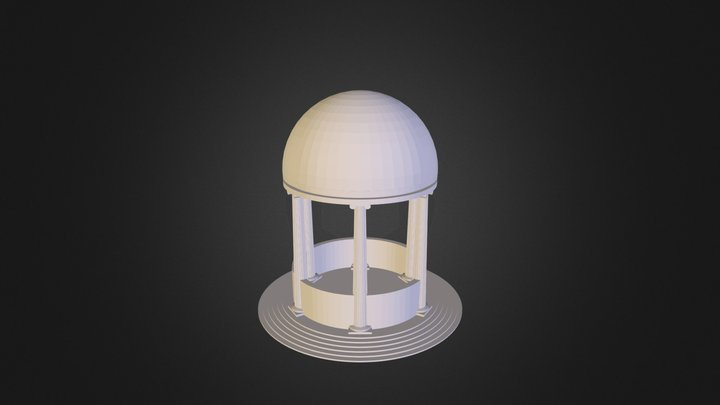 Shrine Asset 3D Model