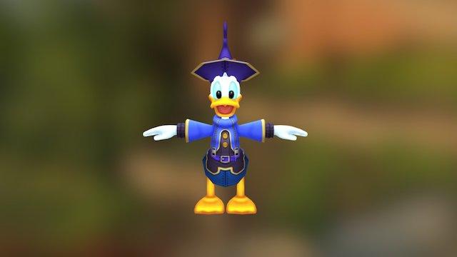 Kingdom Hearts - Donald Duck Disney Castle 3D Model