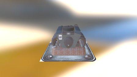 Engine 01 3D Model