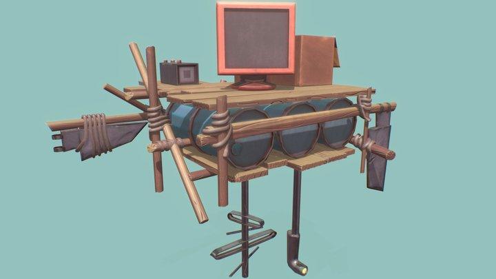 Future buoy 3D Model