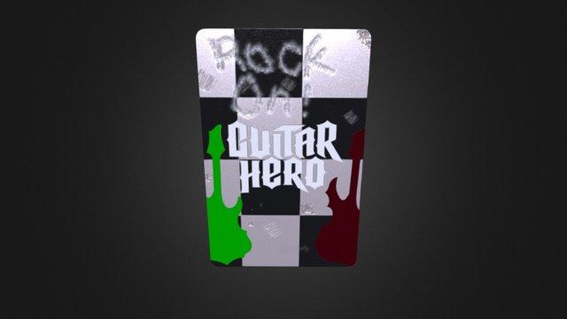 Guitar Hero Playing Card 3D Model