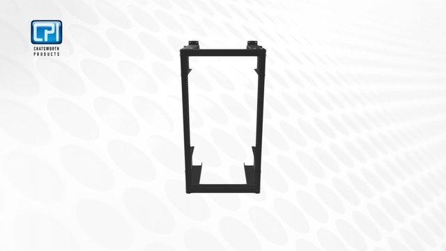 CPI_Heavy-duty Wall-mount Equipment Rack 3D Model