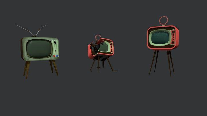 TVs 3D Model