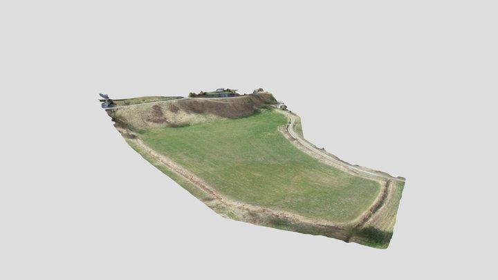 RELEVÉ DE TERRAIN - MAGLAND HAUTE-SAVOIE 3D Model
