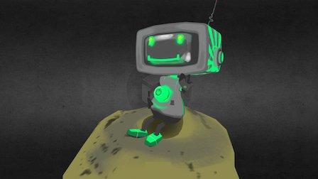 TV Boy 3D Model