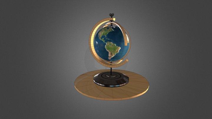 Wereldbol 3D Model