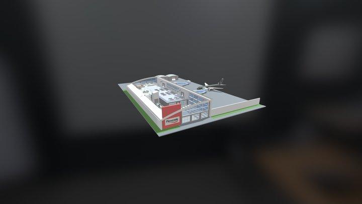 [UK] Interactive 3D Model - Airport 3D Model