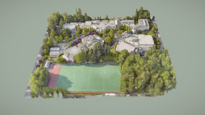 Crofton House School 3D 3D Model