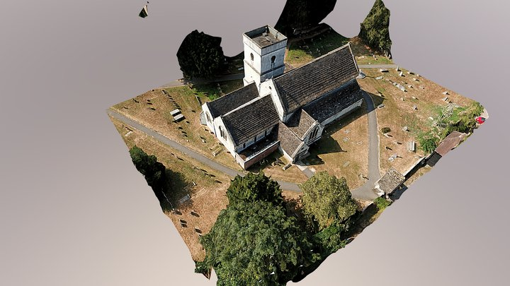 St. Michael's Church - Betchworth, Surrey, UK 3D Model