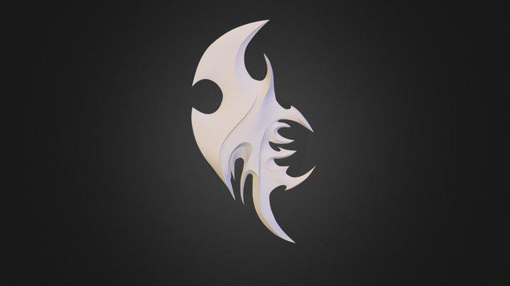 Batya's weapon for TerrorBlade 3D Model