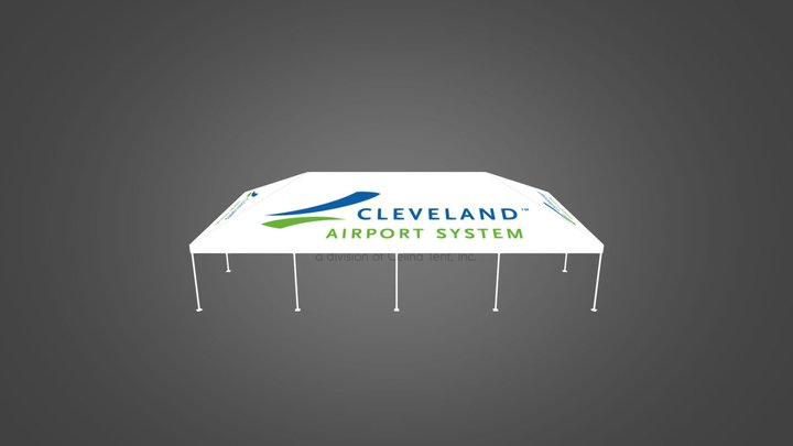 130375 Cleveland Airport Systems 3D Model