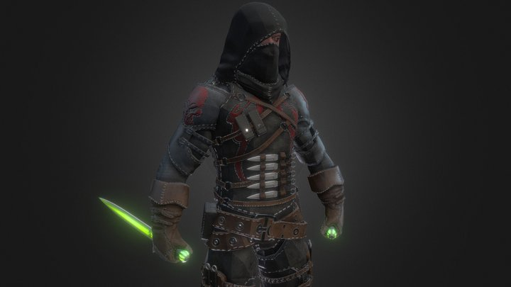 Assassin 3D Model
