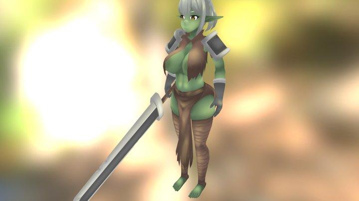 Elrk (精獸人) 3D Model