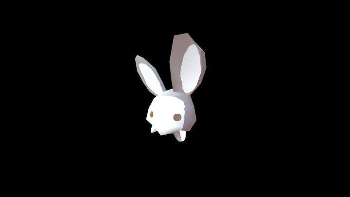 Glitchy Bunny 3D Model