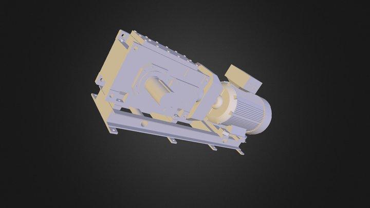 JPT Drive Bedframe 3D Model