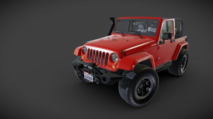 Custom Wrangler 3D Model