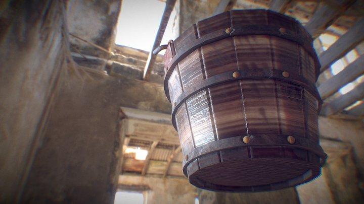 Medieval Bucket 3D Model