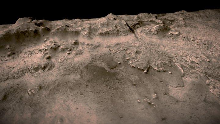 jezero_crater_ctx_dtm 3D Model