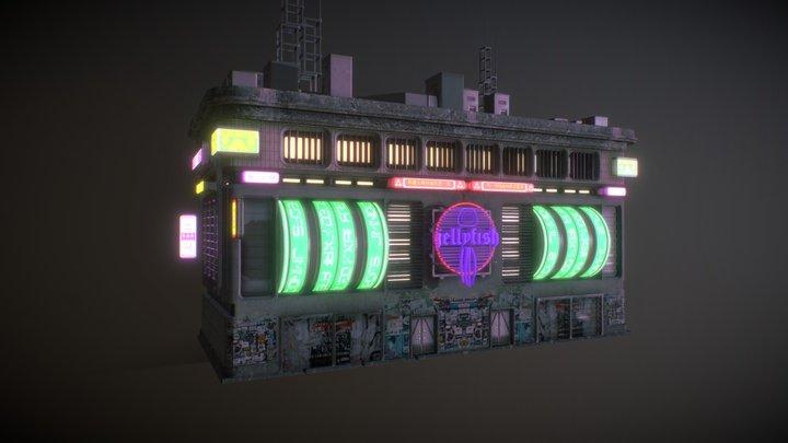 Building 4 3D Model