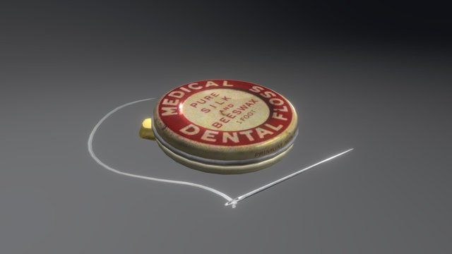 [Nin] Med Floss 3D Model