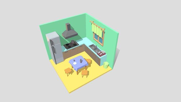 кухня 3D Model