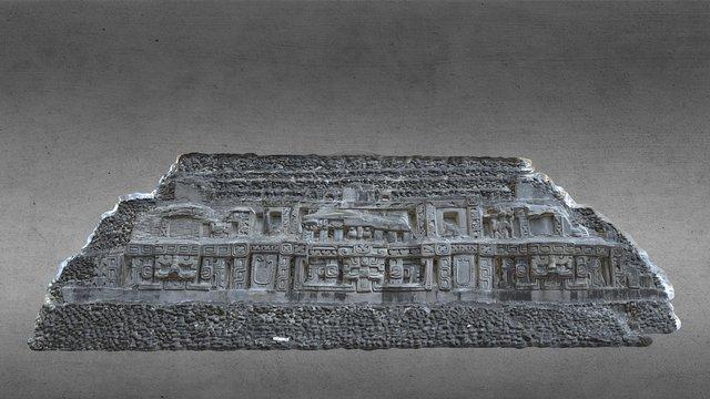 Xunantunich east frieze