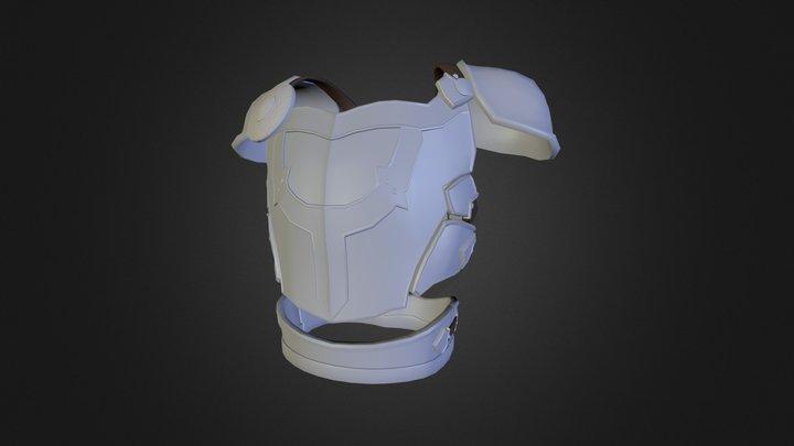 Avacynian Knight Armor 3D Model